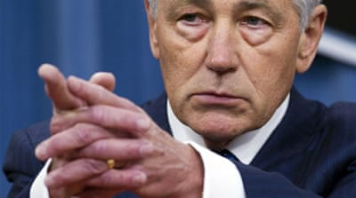 US defence secretary Chuck Hagel resigns