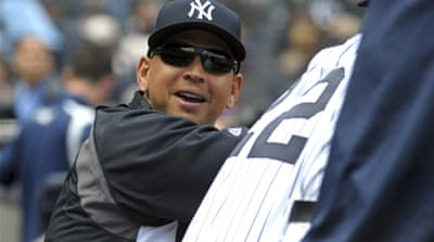 Reports say the Major League Baseball investigators suspect Rodriguez bought documents from a former clinic employee in order to destroy them [EPA]
