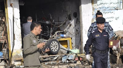 Many dead in serial blasts in Iraq