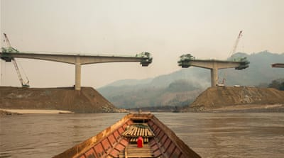 In pictures: Damming Laos' Mekong River