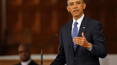 Obama said every American had been touched by the deadly marathon explosions in Boston  [AFP]