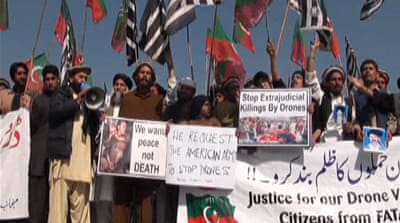 US drone strikes key issue in Pakistan vote
