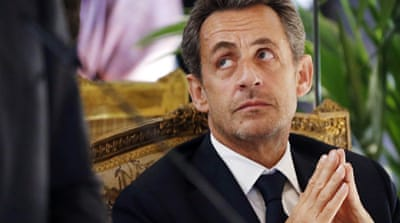 Nicholas Sarkozy is facing scrutiny from judicial investigators over the financing of his 2007 campaign [Reuters]