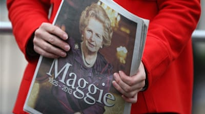 Margaret Thatcher's final call