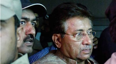 Security tight as Musharraf appears in court
