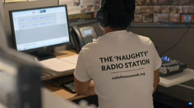 'Naughty Radio' makes waves in Malaysia