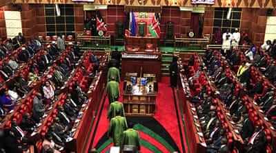 Kenya MPs object to salary oversight