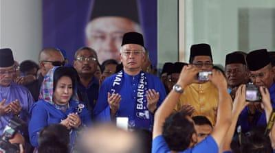Najib Razak: Malaysia's election challenge
