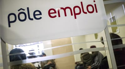 France unemployment hits new high