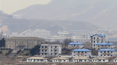 Several dozen South Korean workers returned from the Kaesong complex early on Tuesday [Reuters]