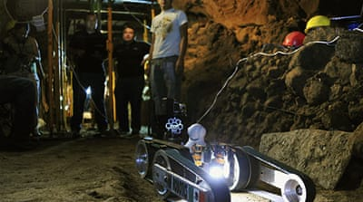 Robot unravels mysteries of ancient Mexico