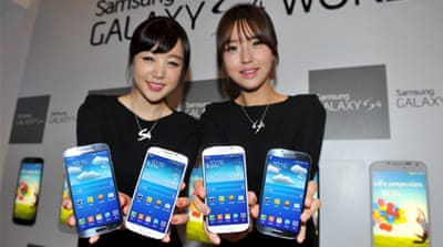 Samsung expects increased smartphone competition will slow its net profit down in next three months of 2013 [EPA]