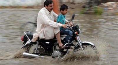 Flooding grips Pakistan