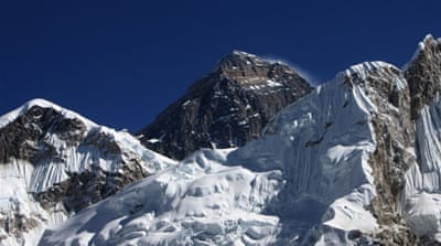 More than 3,000 people have climbed the Mount Everest, which straddles Nepal and China [AFP]