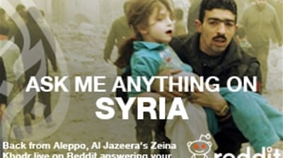 Zeina Khodr: Ask Me Anything on Syria