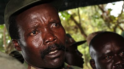 War crimes suspect Joseph Kony, ejected from Uganda in 2005, is wanted by International Criminal Court [Getty]
