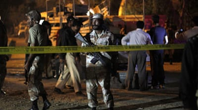 Around 2,000 people were killed in violence linked to ethnic and political tensions in Karachi in 2012 [Reuters]