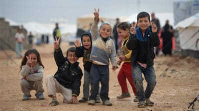 UN says funds for Syrian refugees running out