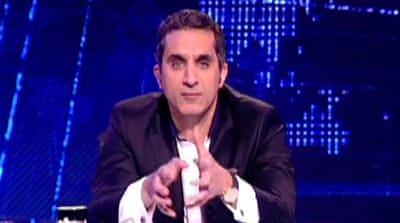Egypt satirist back on air after questioning