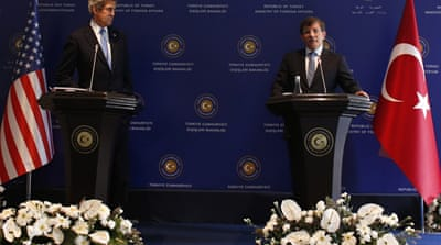 Kerry urges Turkey and Israel to restore ties