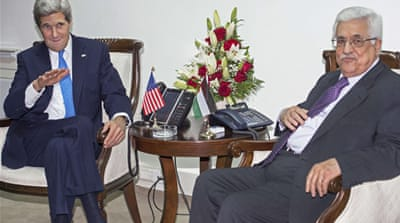 Kerry urges Abbas to restart peace talks