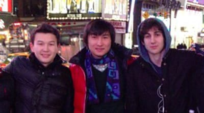Three men charged in Boston bombing case