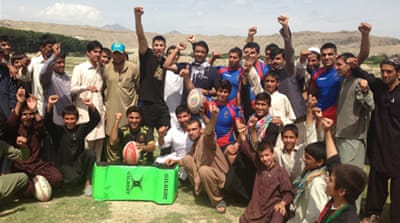 Rugby continues to grow in Afghanistan