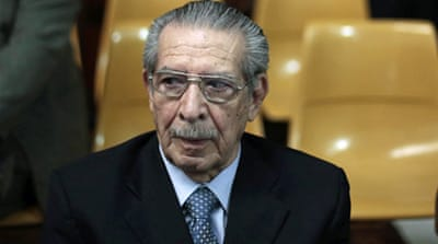 Former Guatemala leader guilty of genocide