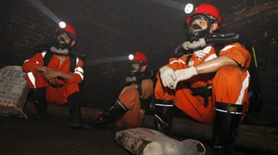 China's mines are among the world's deadliest, partly due to lax regulation [File: AFP]