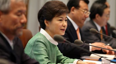 S Korea's Park completes one year in office