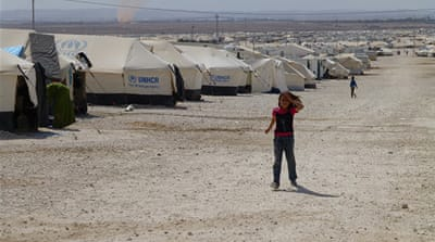Jordan's al-Zaatari refugee camp is currently home to 160,000 Syrian refugees [Dahr Jamail/Al Jazeera]