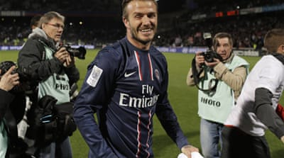 Beckham announces his retirement