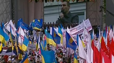 Ukraine activists call for Tymoshenko release