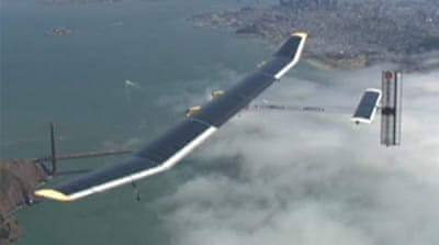Solar-powered plane set to fly across US