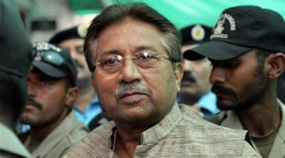 Nawaz Sharif was overthrown in 1999 by Musharraf during his earlier stint as the prime minister [AP]