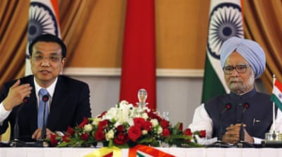 China and India pledge to improve ties