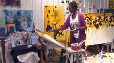Kenyan art up for auction in London