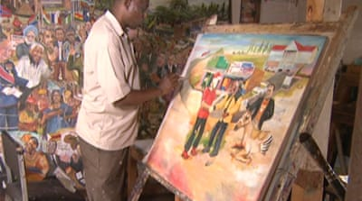 Europeans look to African art amid austerity
