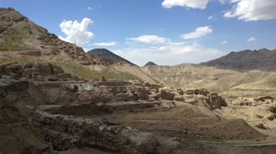 Afghan archaeology site faces rocky future