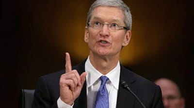 Apple CEO rejects 'tax evasion' charges