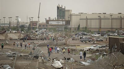 Deadly tornado rips through Oklahoma City