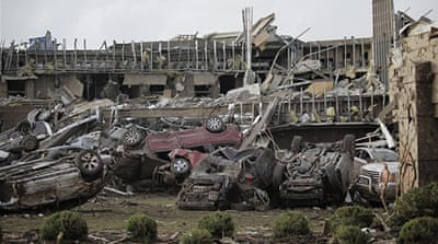 Just one percent of tornadoes reach category 4 on the Enhanced Fujita Scale. [AFP]