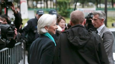 Lagarde was named the world's seventh most powerful woman by Forbes magazine [Reuters]