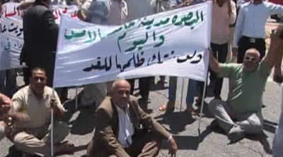 Iraqi Sunnis protest for sovereign region