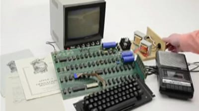 Early Apple computer to be auctioned