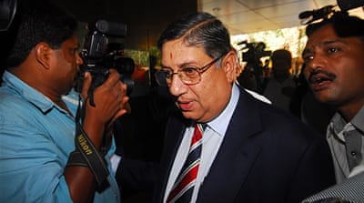 Indian cricket board chief refuses to resign