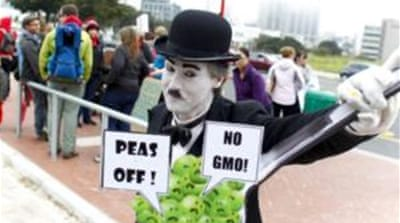 Worldwide protests held against Monsanto