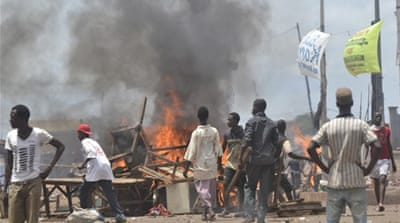 The violence on Saturday brings to 11 the number of people killed since Thursday in unrest [AFP]