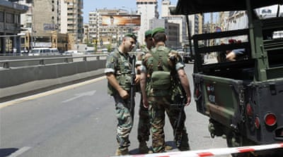 Rockets hit Beirut's southern suburbs