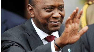 President Uhuru Kenyatta is charged with orchestrating post-election violence in 2007  [Reuters]